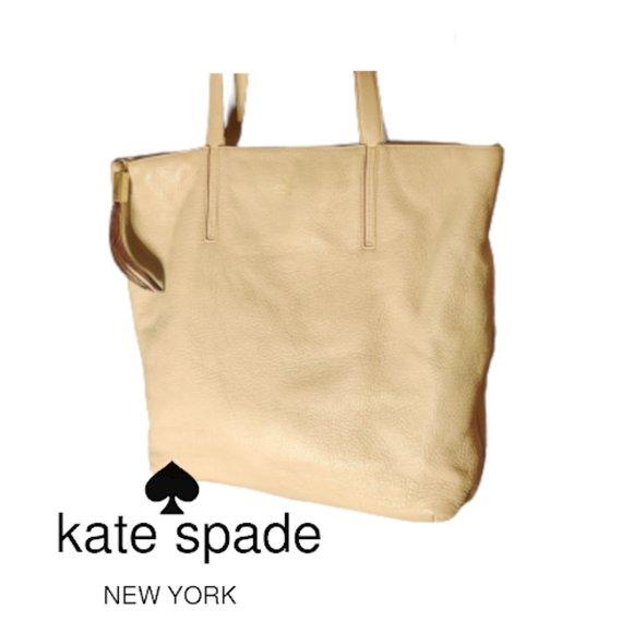 🎀 EUC Kate Spade New York Leather Tote Bag 🎀